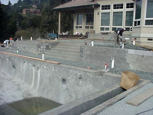 Project Three – Steep Hillside becomes Pool with Ocean View