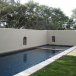 Project Two – Formal, Quiet, Private Courtyard Spa and Pool